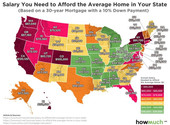 THIS IS HOW MUCH YOU NEED TO MAKE TO AFFORD THE AVERAGE HOME IN EACH STATE