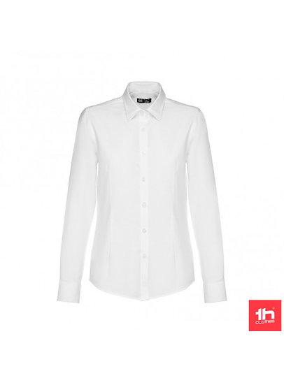 Camisa Senhora - Cintada com Pinças - OXFORD