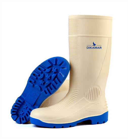 Bota PVC ADM Safety White S4