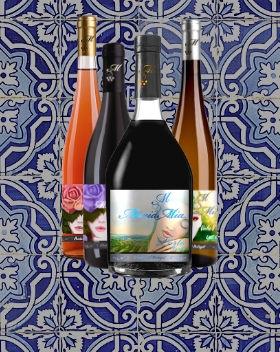 Maria Mia Wine Bottles