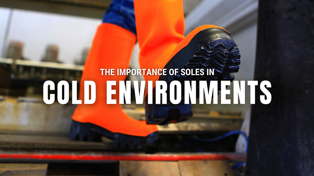 The importance of soles in cold environments