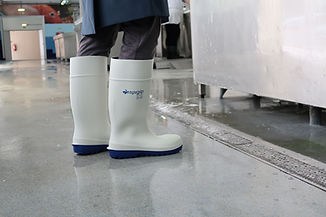 White Eaglegrip boot