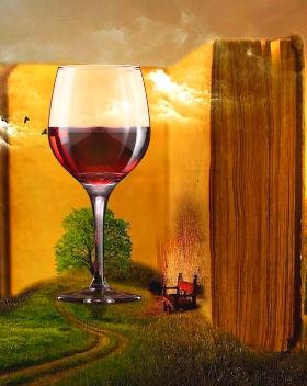 Glass of wine Maria Mia