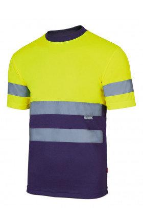T-shirt Bicolor Alta Visibilidade