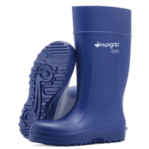 EagleGrip® Ultra Grip Soft Toe Blue