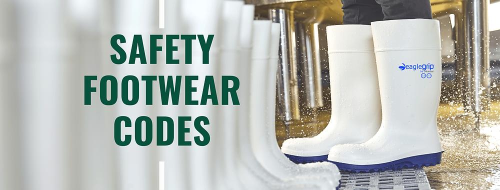 Códigos de Calçado de Segurança