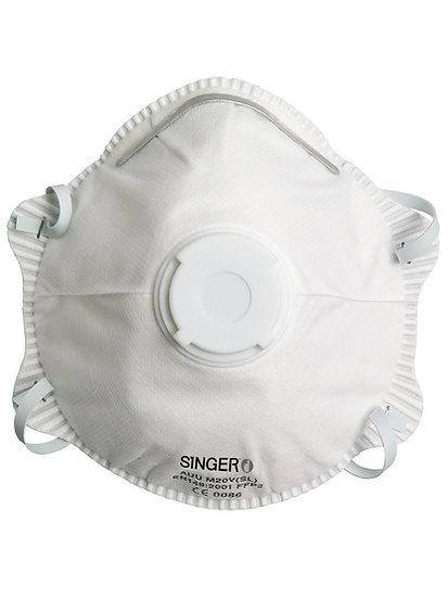 Mascara Descartável FFP2 NR D c/ Valvula