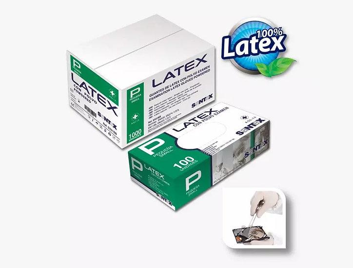 Luva Descartável Latex C/Pó