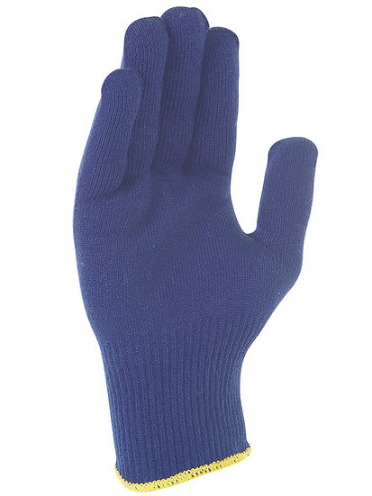 Luva Azul para Frio S/ Costuras