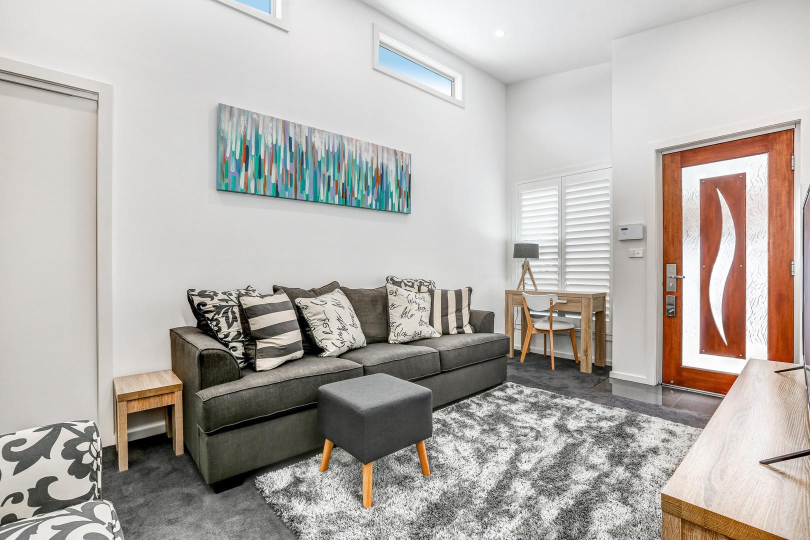 Lounge Room Little Lake Apartment B
