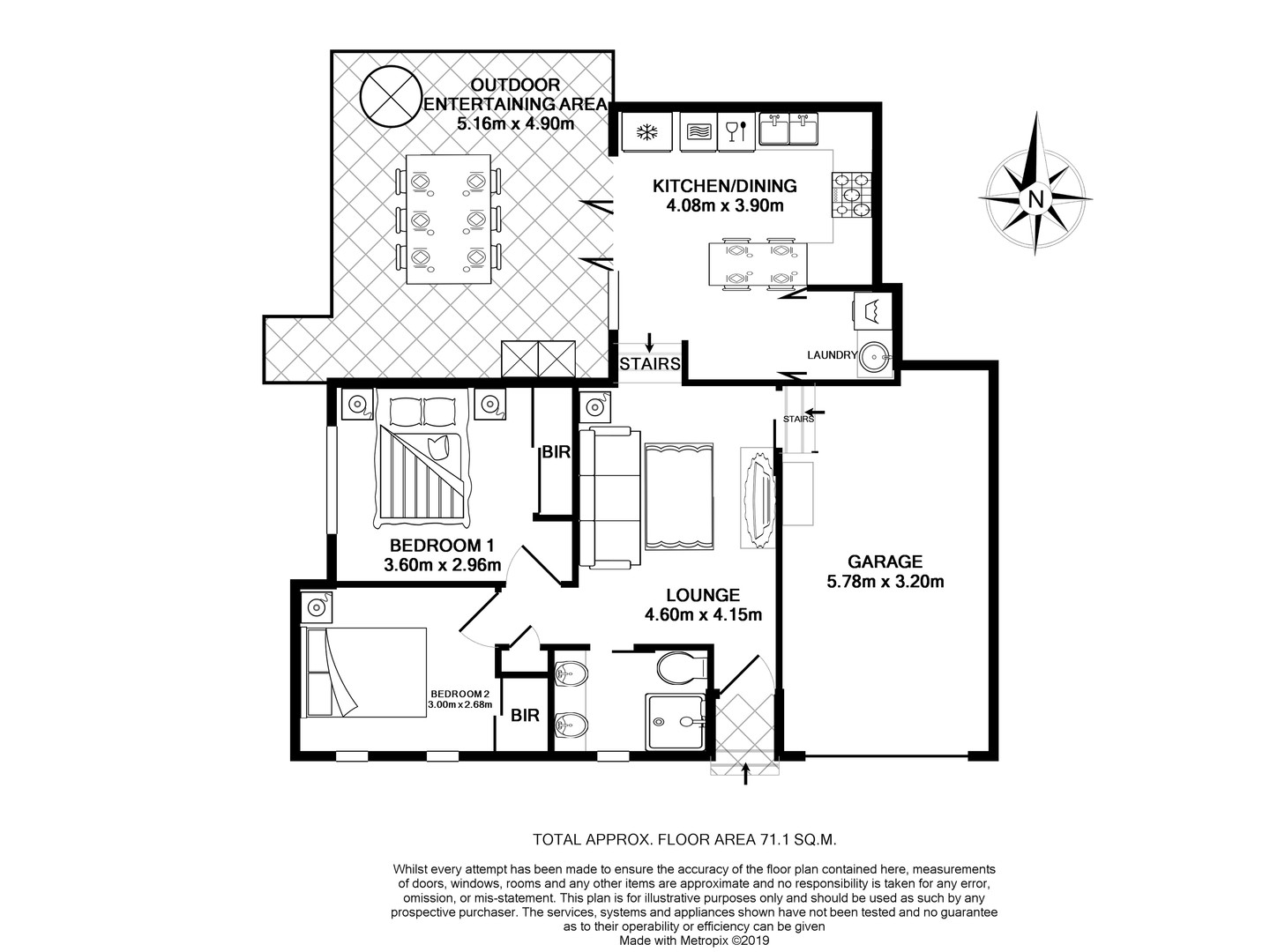 Layout Apartment A
