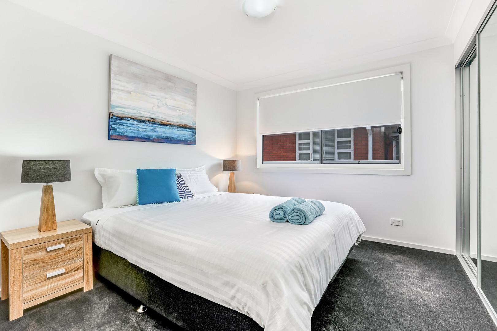 Bedroom Little Lake Apartment B