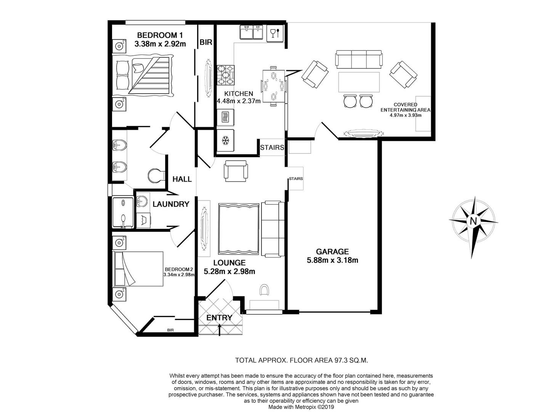 Layout Apartment B