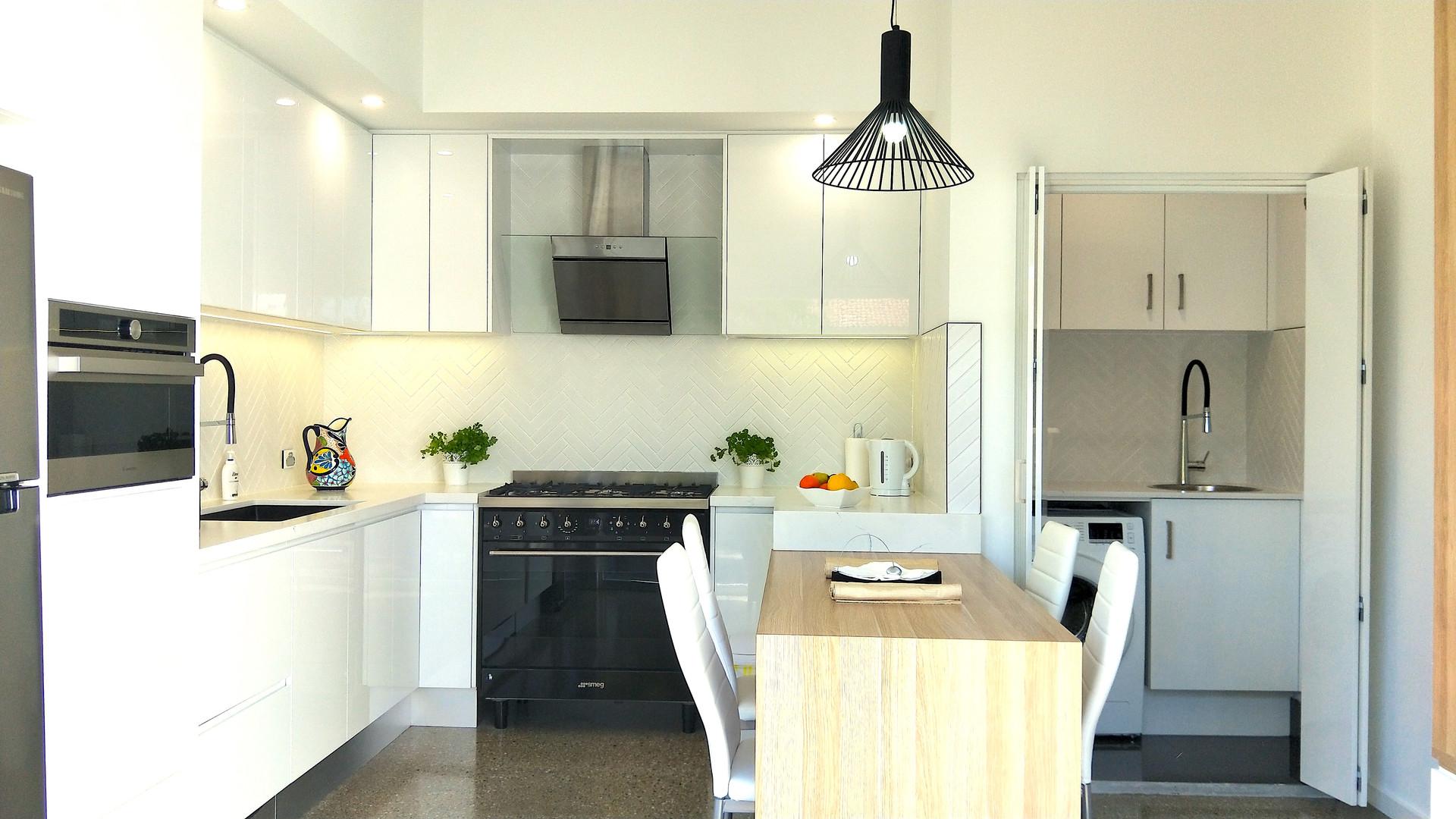 Kitchen Little Lake Apartment A