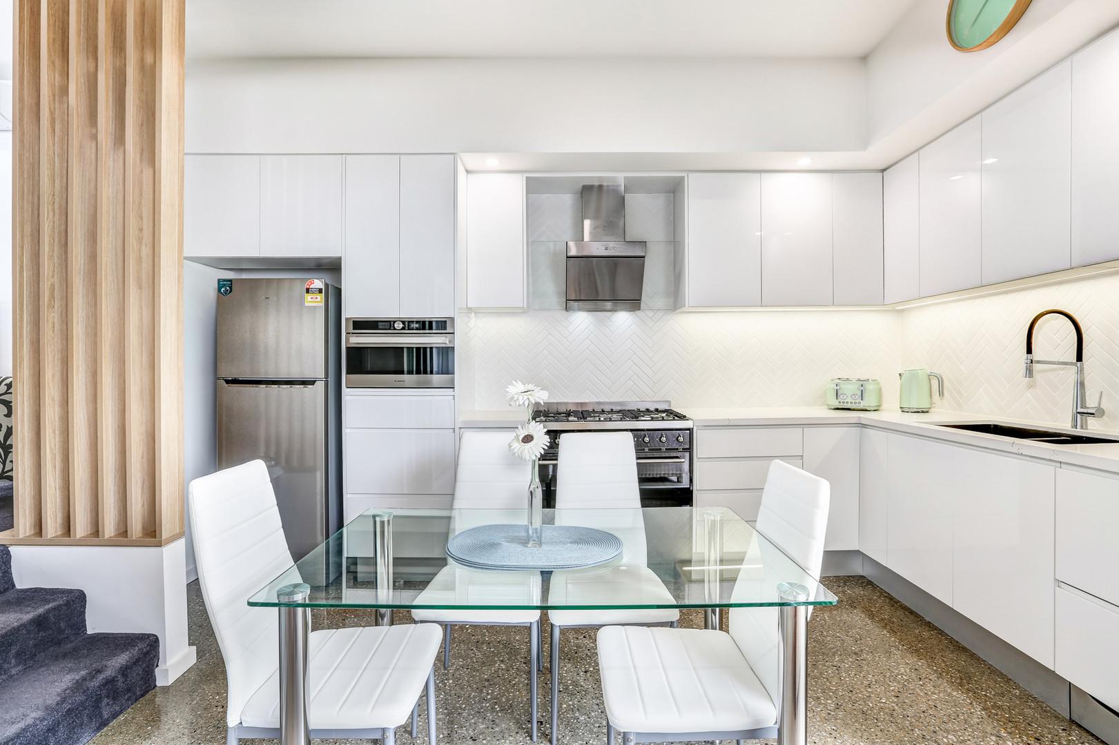 Kitchen Little Lake Apartment B