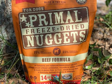 Primal Dog Food Trial & Results