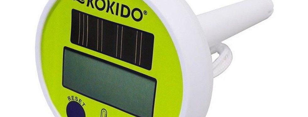 Termometro Digitale Ad Energia Solare