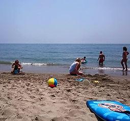 Kindvriendelijk strand Marbella