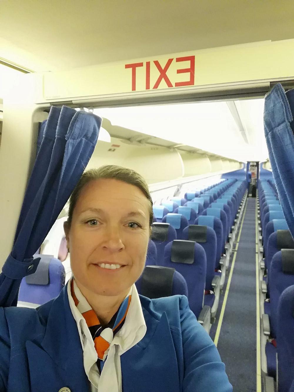 Mijn werk als stewardess