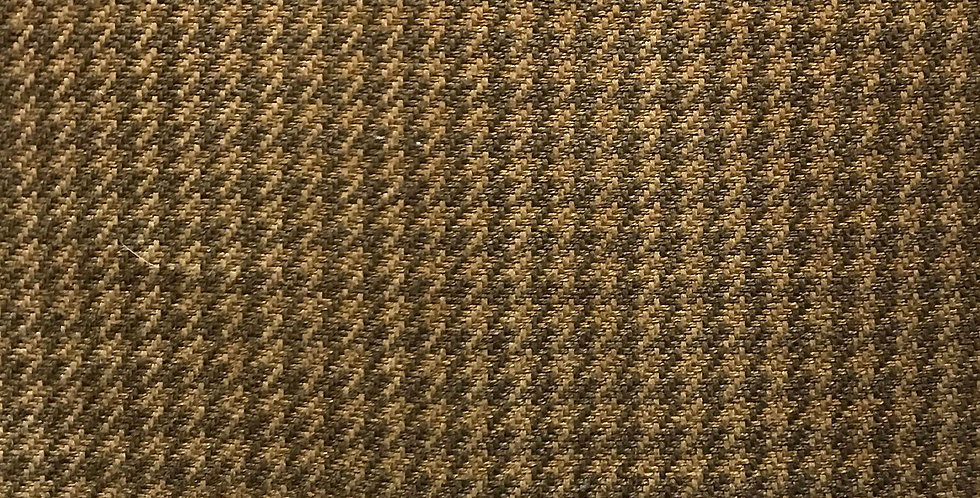 Brown and Gold Houndstooth