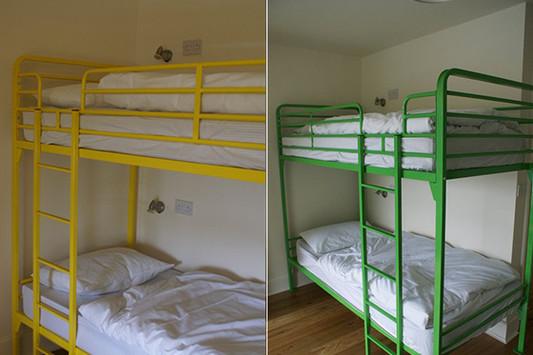 Barracks Double Bunk beds