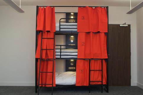 Community Triple Bunk Bed