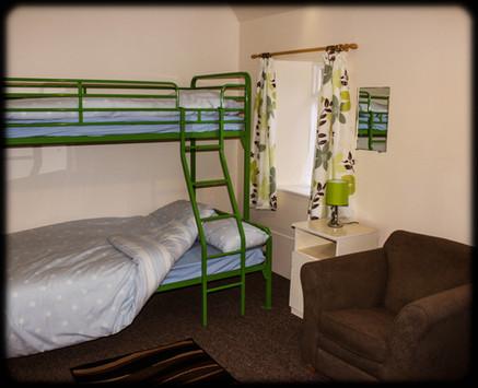 Barracks Single-over-Double Bunk beds