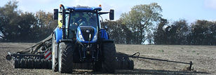 Blue Tractor, Gloucestershire