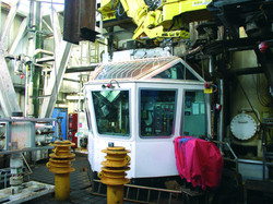 Oil Rig Drillers Cabin