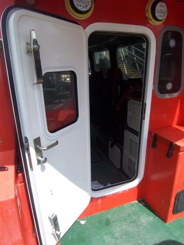 Heavy Duty Marine Door