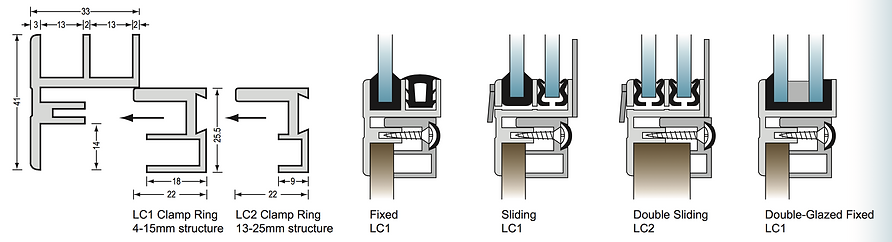 Lite Clamp Section