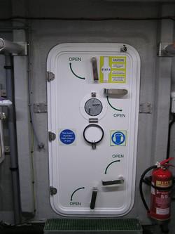 Engine Room Door, Fire Rated Panel