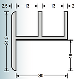 D Section Cross Section