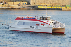 Fast Catamaran Ferry Windows