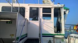 Gosport Ferry Sliding Door