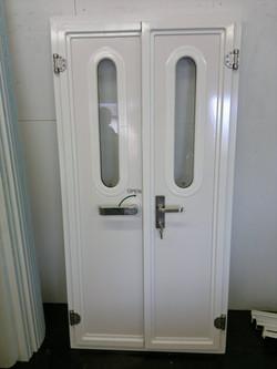Double Opening Heavy Duty Door