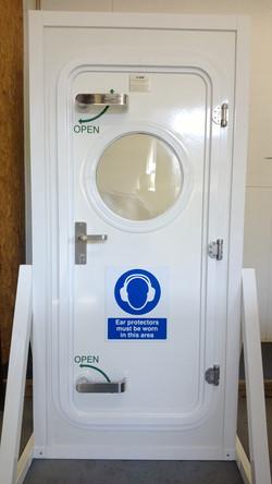 Heavy Duty Door with 2 Dog Handles