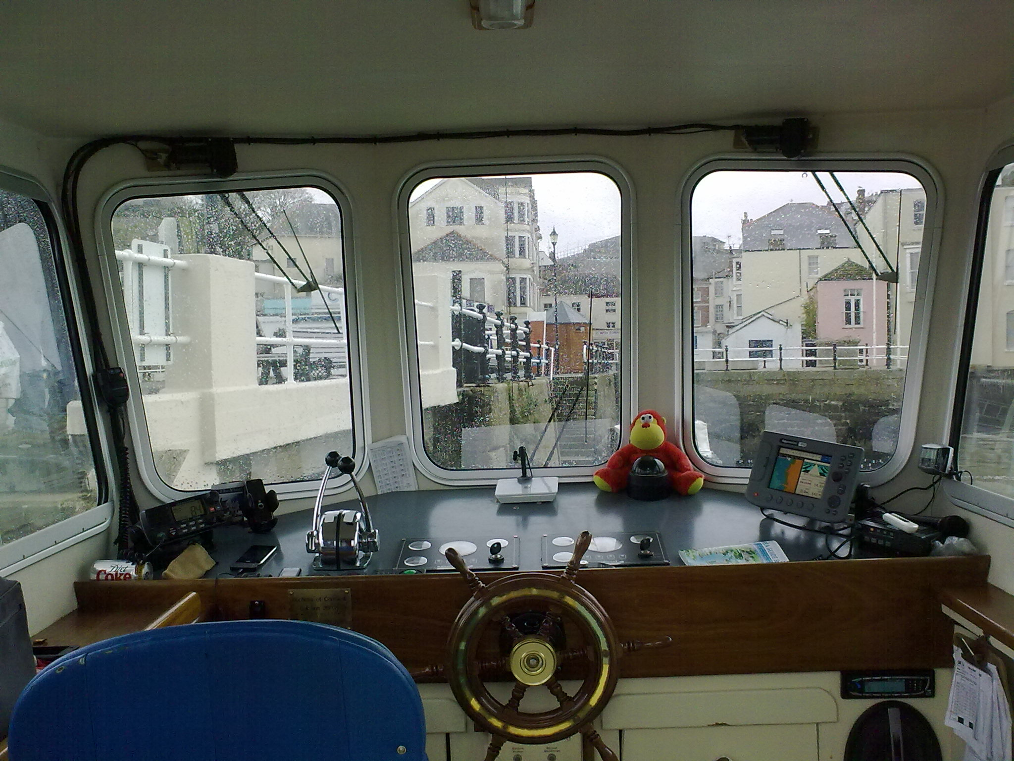 St Mawes Ferry Windows
