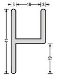 V Section Cross Section