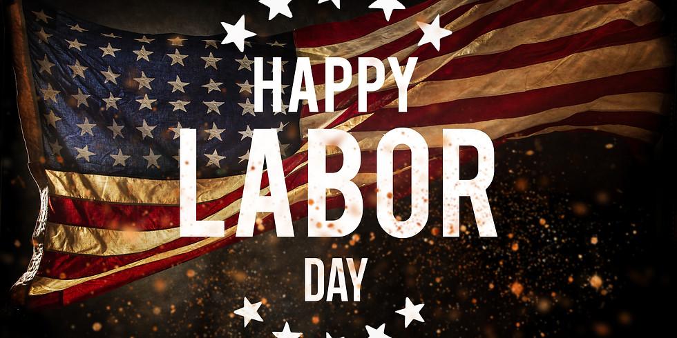 CLOSED, Labor Day