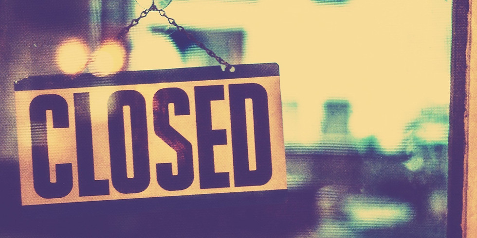 CLOSED, Thanksgiving Holiday