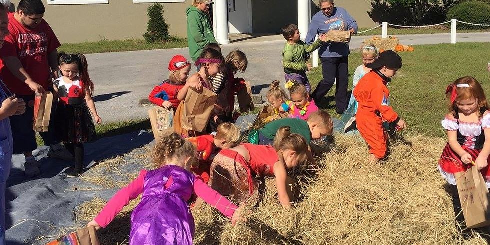 Fall Festival, Pizza Party, and Halloween Dress up
