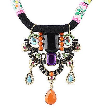 PATCHWORK Vintage Necklace