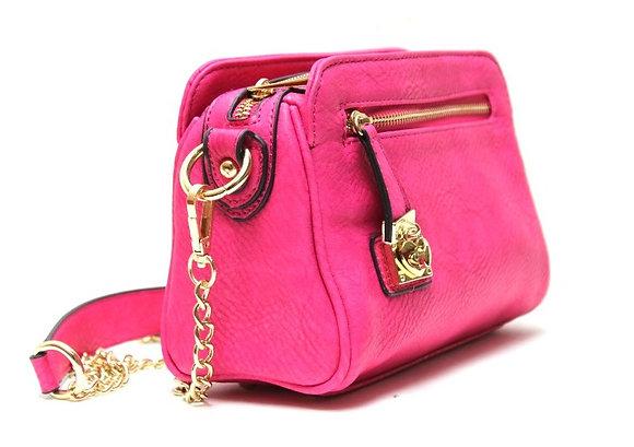 Hot Pink LIES Bag