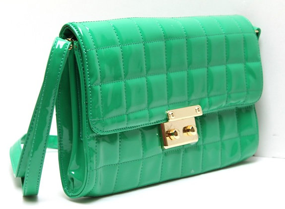 Green LIGHT Messenger Bag