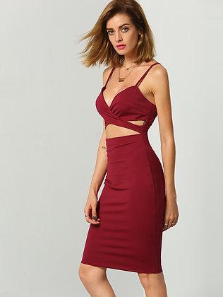 Don't CUT Me Out Bodycon Dress