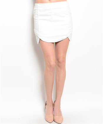 WHITE Out Skirt