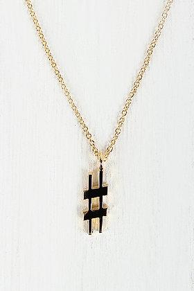 #HASHTAG Necklace