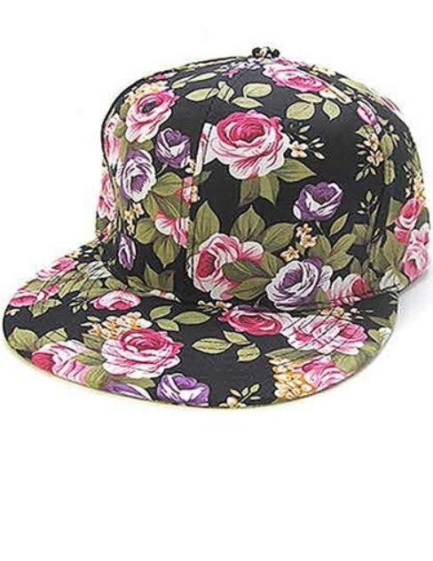 BLACK FLORAL HAT.JPG