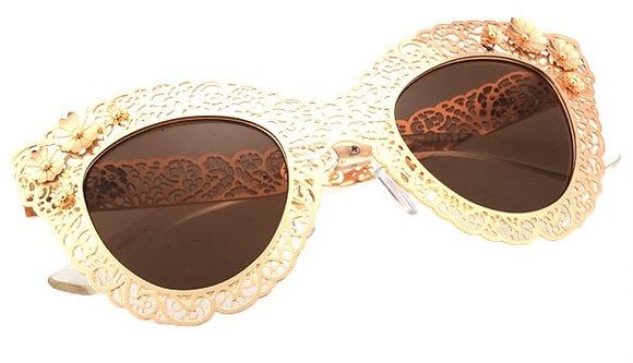 Gold TREASURE Sunglasses